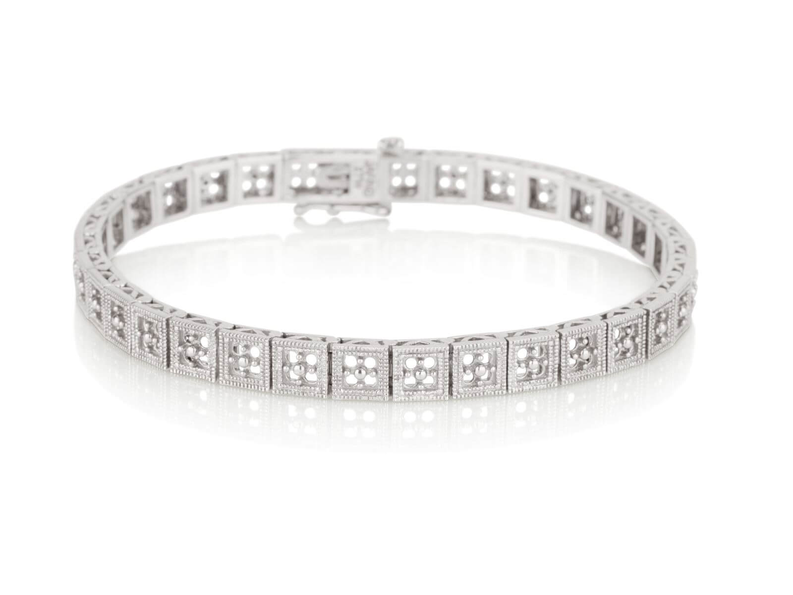 Tennis bracelet Antique 4 Stones 1
