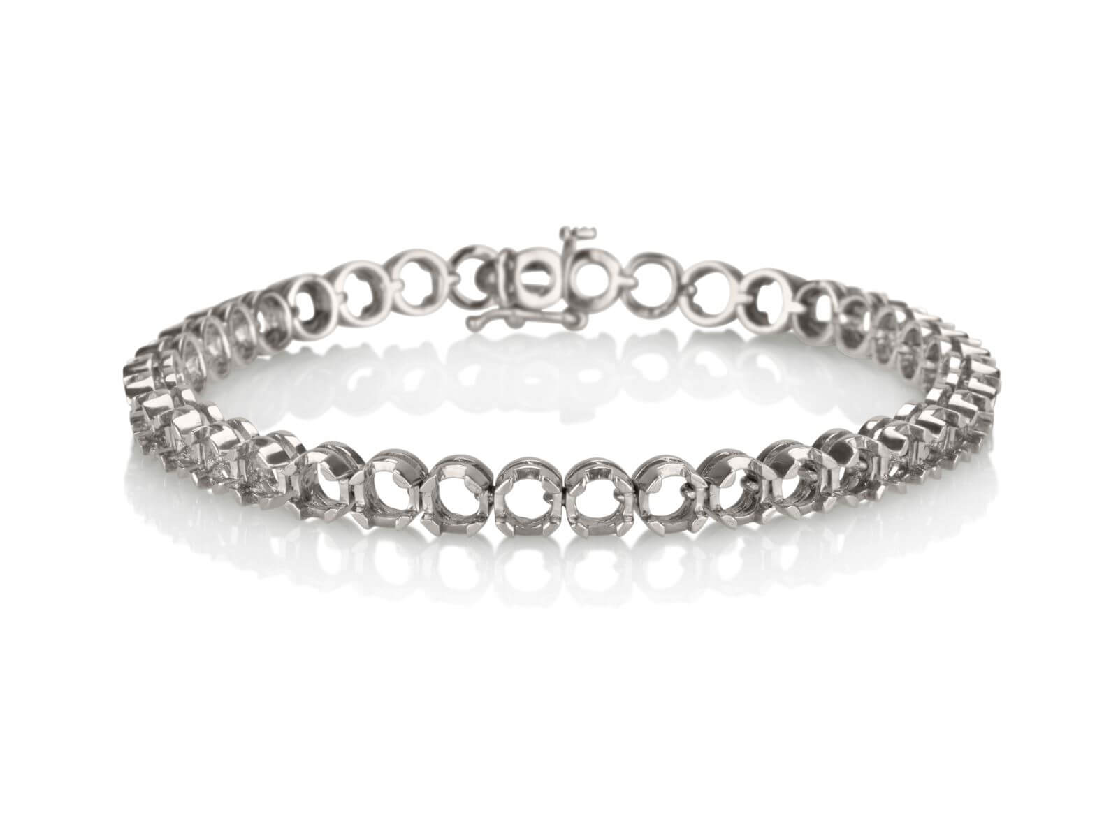 Tennis bracelet Diamond cut